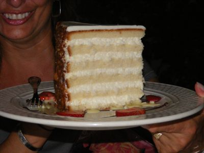Charleston's Peninsula Hotel Coconut Cake - YUM!