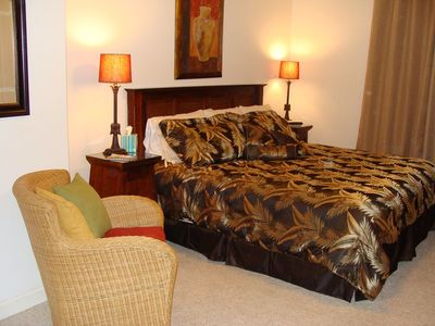 Blue Mountain Beach condo rental - Master suite with king size bed