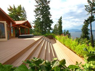 Sandpoint house photo - Enjoy sunbathing on a totally private deck