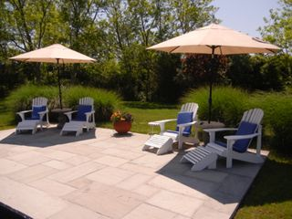 Water Mill house photo - Blue stone pool patio