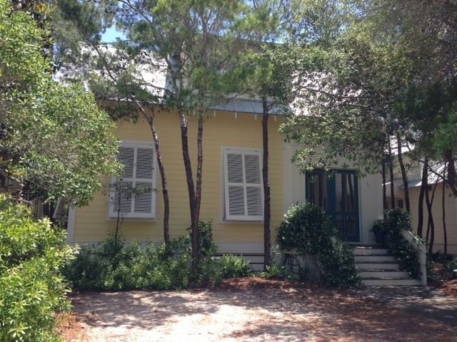 Best Location on 30A -Watercolor just behind the Seaside Chapel! Walk to Seaside