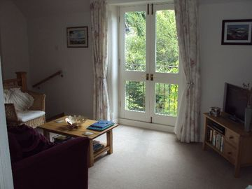 Bridport apartment rental - Eype View Lounge