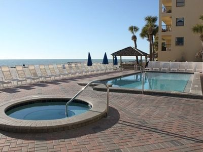 Madeira Beach condo rental - Heated Pool and Hot-Tub for your enjoyment.