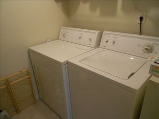 Amelia Island condo photo - Pantry with Washer/Dryer in the unit.