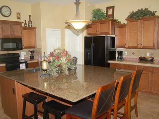 Kitchen with huge granite island - Queen Creek house vacation rental photo