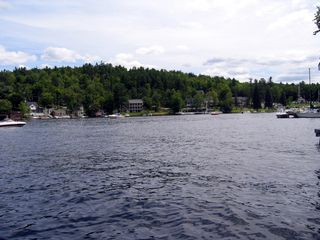 Sunapee cottage photo - View from dock