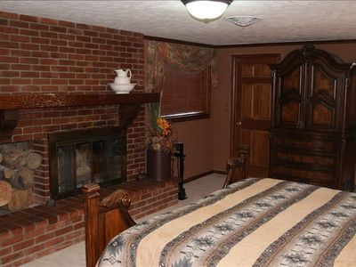 (North Quarter) room also has a fireplace and is about 1/4th of the whole house