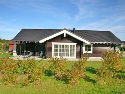 164 - High Standard Log Cabin 900 Meters from the Baltic Sea - Four Bedroom House, Sleeps 9