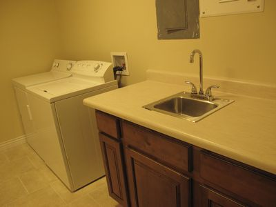 Draper apartment rental - laundry