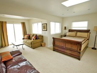 4th bdrm/loft, King bed, pull out dbl bed & balcony w/ocean view. 3rd floor - Carlsbad house vacation rental photo