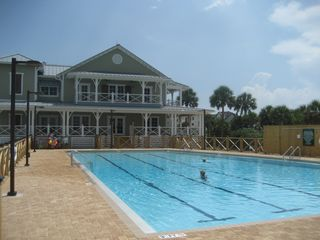 St George Island house photo - New, large community pool.