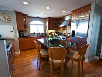 Kitchen: Stainless Steel Appliances, PLUS Dumb Waiter for Hauling up Groceries!
