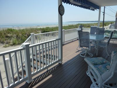 the best porch on Nantasket Beach!