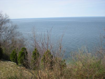 View of the Sound from the Deck