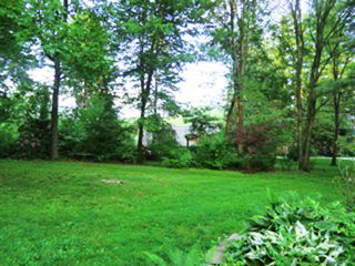 Great Barrington house photo - back yard