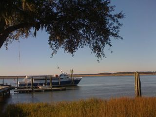Daufuskie Island cottage photo - The County Ferry at Freeport Marina on Daufuskie