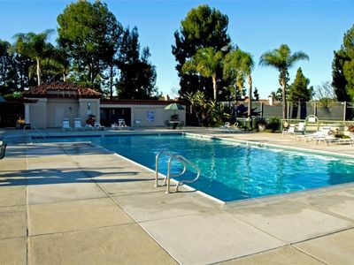LARGE SWIMMING POOL plus Wading Pool, Whirlpool Spa and Tennis Court (not shown)