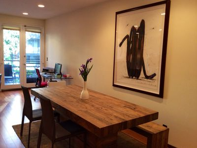 Dining area with ample seating.