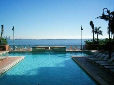 Swimming Pool on 6th Floor level with stunning ocean views