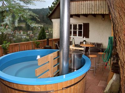 Bad Wildbad house rental - Bath tub on the South-western terrace