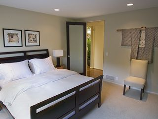 Hollywood estate photo - Additional design inspired Guest Bedroom