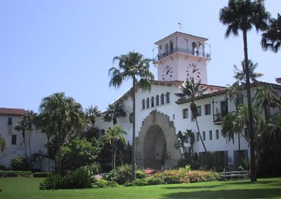 SANTA BARBARA COURTHOUSE free tours availble every weekend