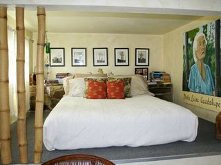 Vieques Island house photo - loft bedroom with queen size bed