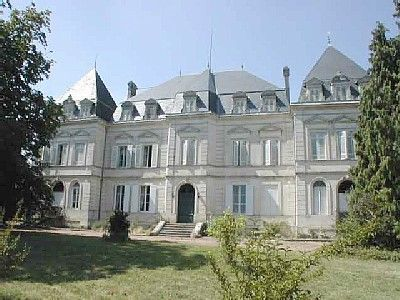 Jonzac area castle rental - Chateau de Clerac - Front view