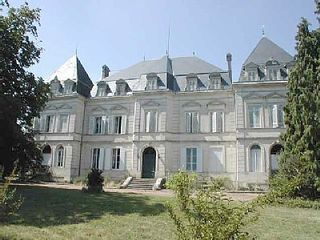 Jonzac area castle photo - Chateau de Clerac - Front view
