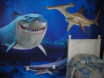 Cumbrian Lakes villa rental - Shark Room