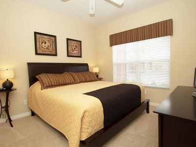 Paradise Palms townhome rental - King bedroom (downstairs/main floor)