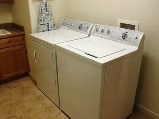 Moab townhome photo - .Washer, Dryer and Sink.