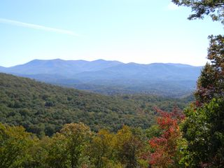 Ellijay cabin photo - The Rich Mountains, an unobstructed view from the deck
