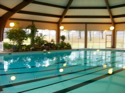 Mount Pocono chalet rental - Community Indoor Pool (2 min. drive from the House)