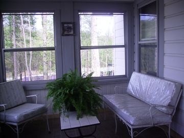 Sunroom invites you to sit and ponder
