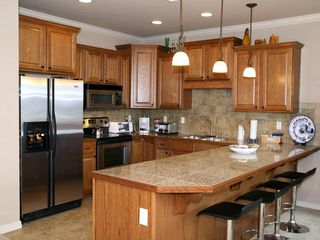 Branson condo photo - Fully equipped kitchen, stainless appliances, granite counters.