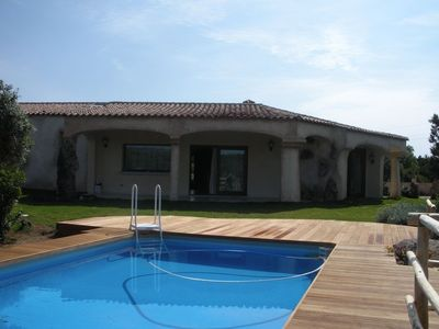 new exclusive villa with a pool, between mountains and sea on the Costa Smeralda