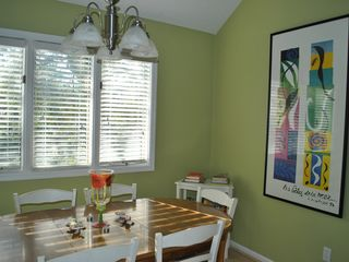 Bald Head Island condo photo - dining area off the kitchen