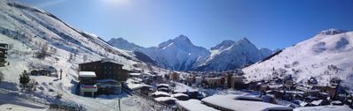 Apartment 70 m2 both alps foot of the slopes