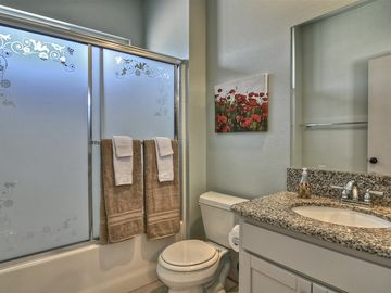 Upstairs bedroom bathroom