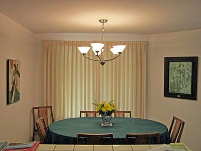 Cambria house rental - dining room