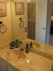 Deerfield Beach townhome photo - Master Bath with walk-in shower and walk-in closet