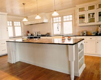 Kitchen Island, vegetable sink, and cabinets