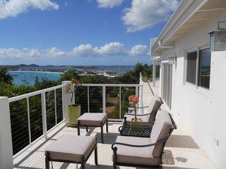 Pelican Key villa photo - Villa La Di Da front deck with ocean views