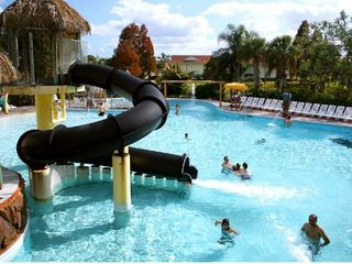 Kissimmee property rental photo - Liki Tiki Village Pool
