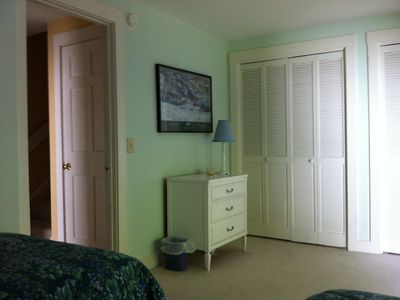 Stowe townhome rental - Double closets and adjacent full bath