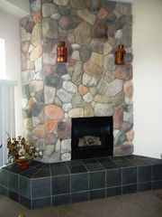 Bellaire / Shanty Creek condo photo - fireplace