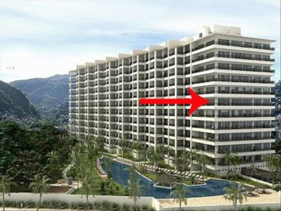 Puerto Vallarta condo rental - Molino de Agua #601 - End Unit with Wraparound Balconies and 270 Degree Views