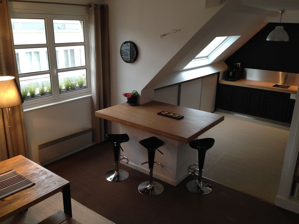 Accommodation near the beach, 125 square meters, , Caen, Basse-Normandie