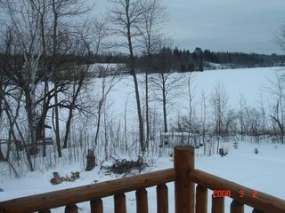Orr cabin photo - View from deck